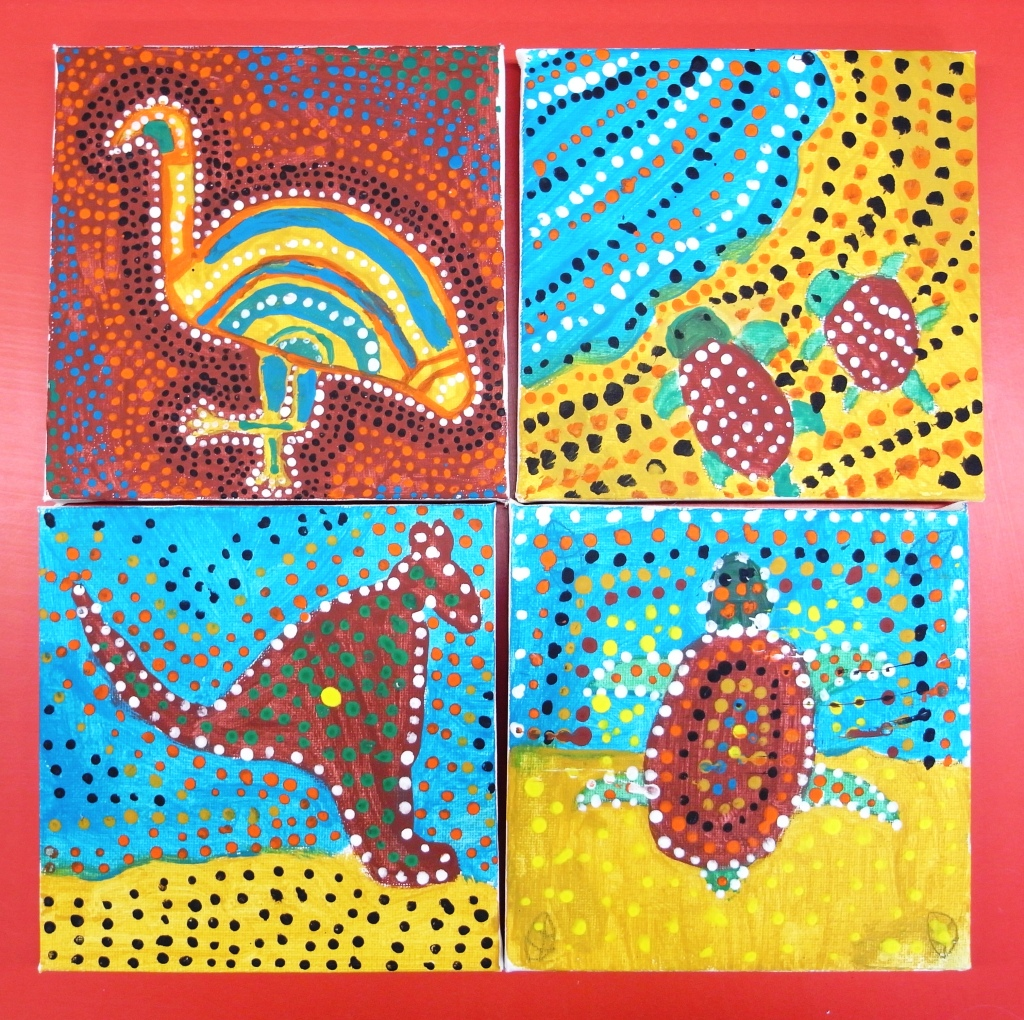 Aboriginal canvases 2
