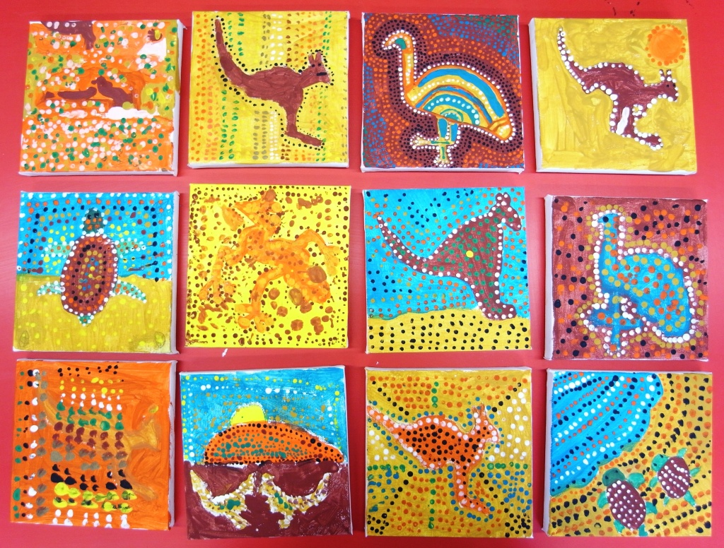 Aboriginal canvases